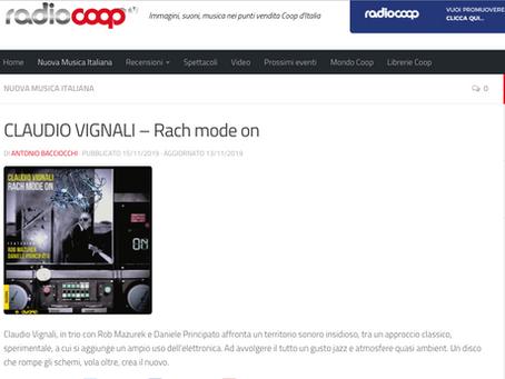 """(IT) Ottima recensione di """"Rach Mode On"""" su RadioCoop (IT)"""