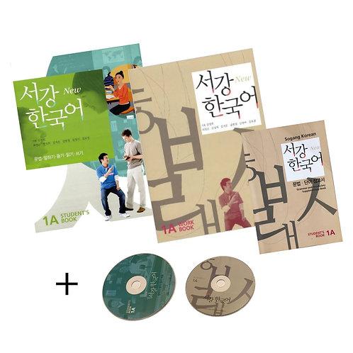 Sogang Korean Book TOPIK Level 1A (Complete Set)