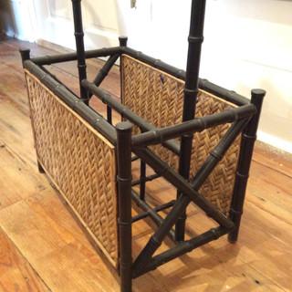 Bamboo Style Magazine Rack