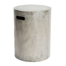 Round Concrete Stool