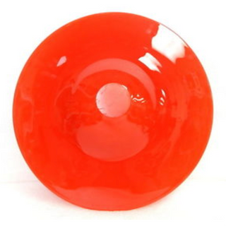 Hand Formed Glass Bowl, Belgian Signed