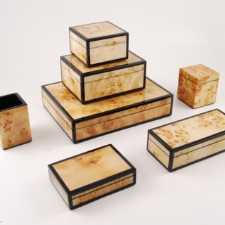 Hand Laquered and Polished Boxes