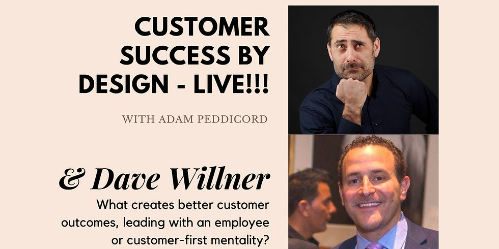 What creates better customer outcomes, leading with an employee or customer-first mentality?