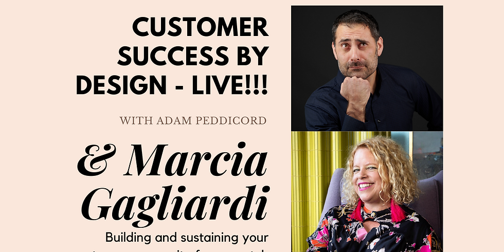Building and sustaining your customer community from scratch with integrity and authenticity.