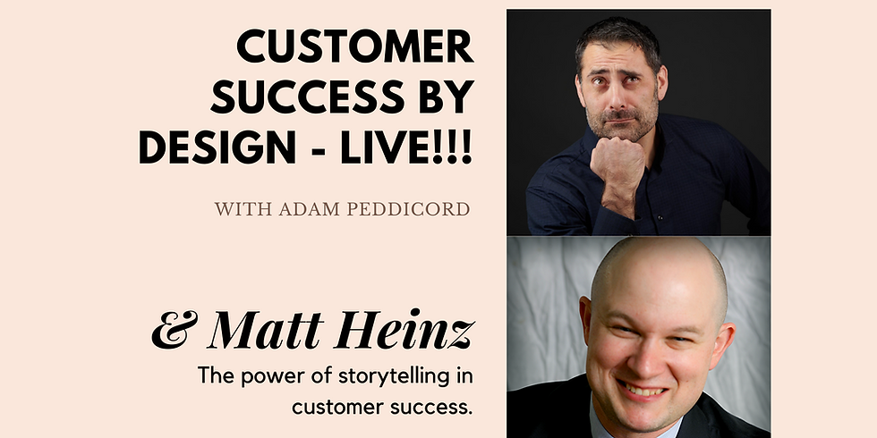 The power of storytelling in customer success.