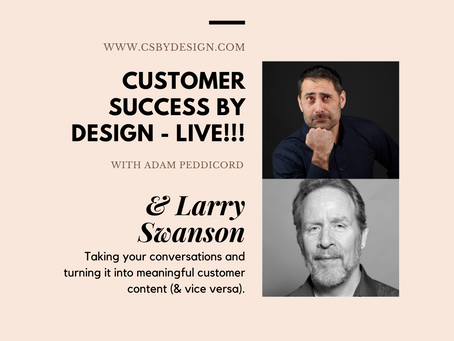 Taking your Conversations and Turning it into Meaningful Customer Content (& Vice Versa)