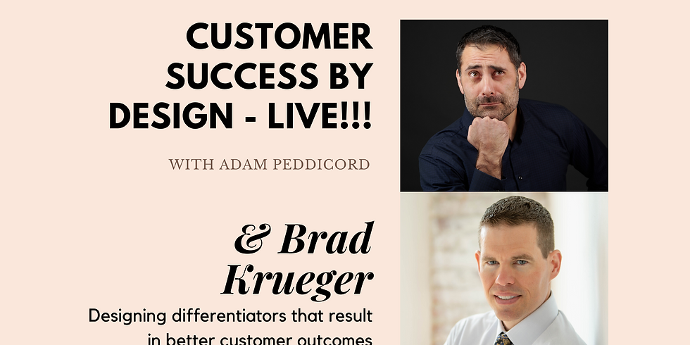 Designing differentiators that result in better customer outcomes.