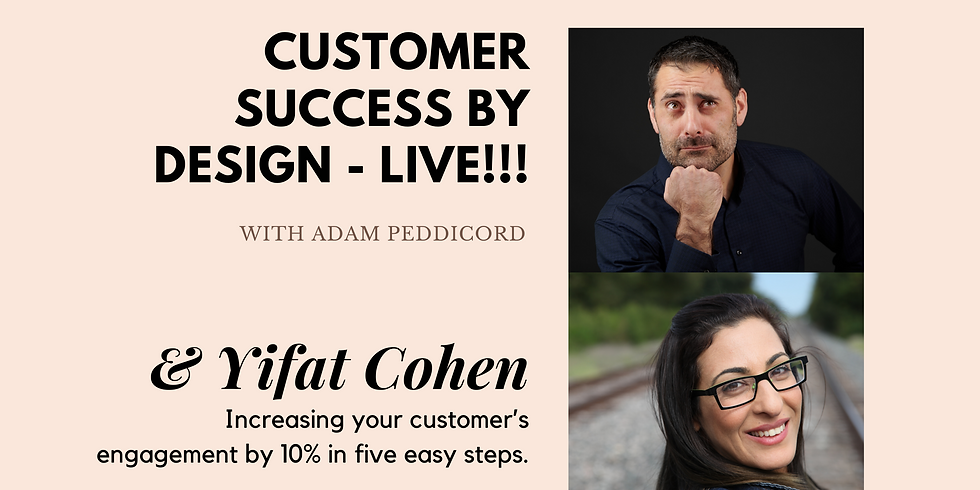Increasing your customer's engagement by 10% in five easy steps.