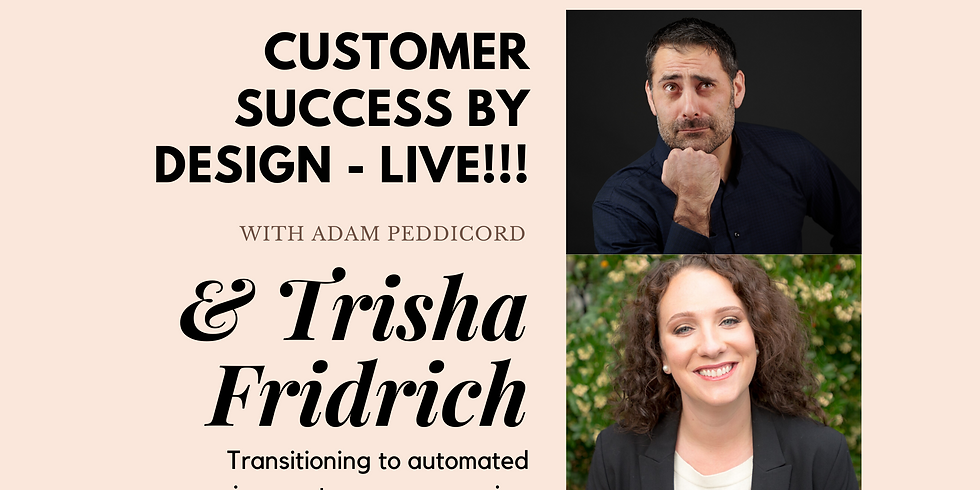 Transitioning to automated processes in a customer empowering & employee freeing way.