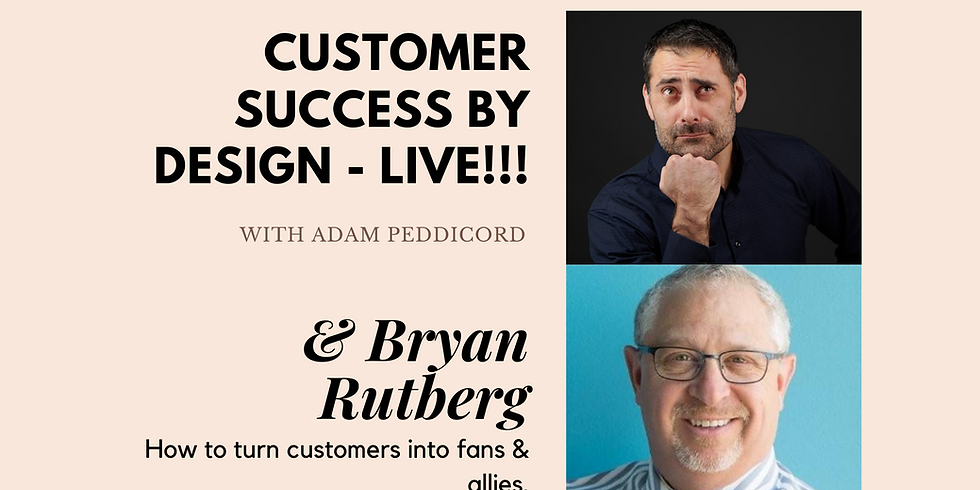 How to turn customers into fans & allies.