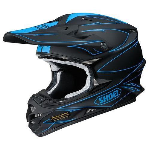Shoei VFX-W MX Helmet Hectic TC2 Blue