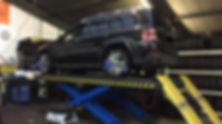 chsvermessung und Spureinstellung Autoservice Bochum Jawan Reifen