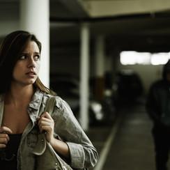Woman Stalked in Garage