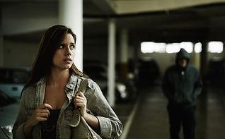 Donna Stalked in garage