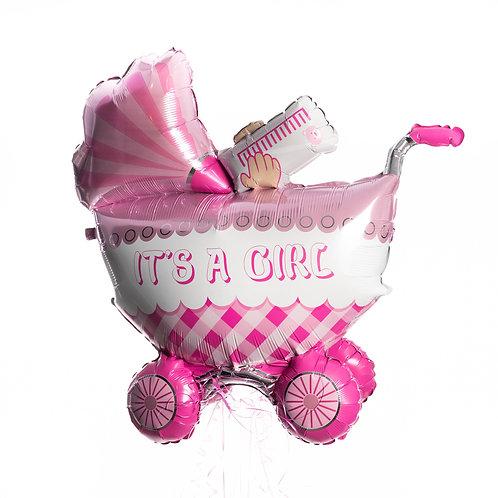Baby - Buggy (jongen/blauw of meisje/roze)