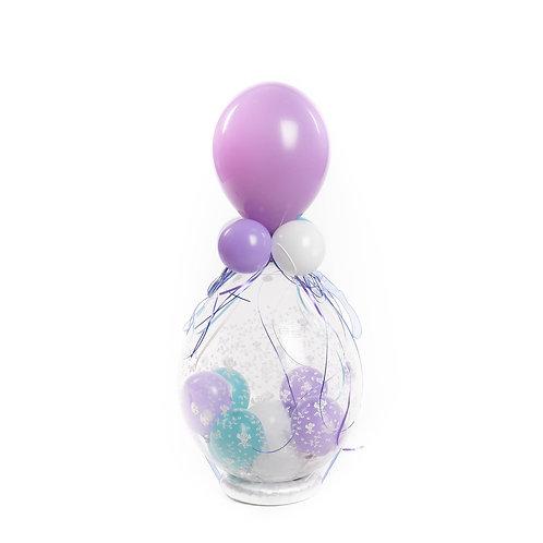 Gevulde ballon / Idee 1 (feestelijke gevuld en versierd)