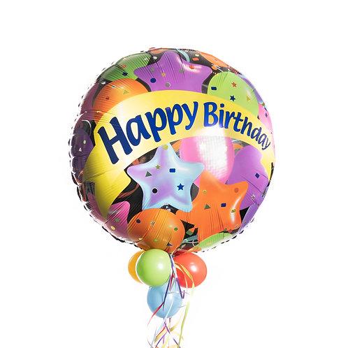 Verjaardag - Ballonnen en Sterren