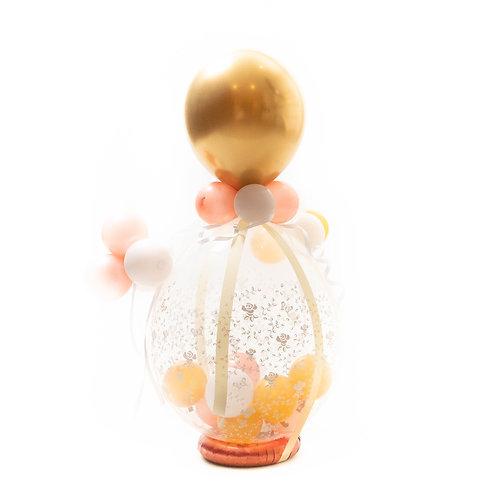 Gevulde ballon / Idee 2 (extra feestelijke gevuld en versierd)