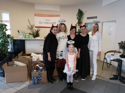 Předávání Vánočních balíčků 2019