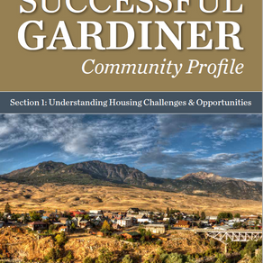 Successful Gardiner's Community Profile for Housing Affordability Released!