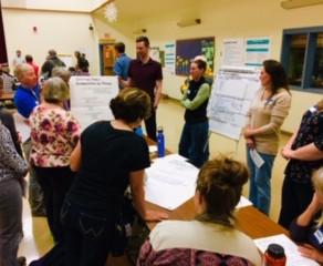 Summary of Night 1 of Community Workshop