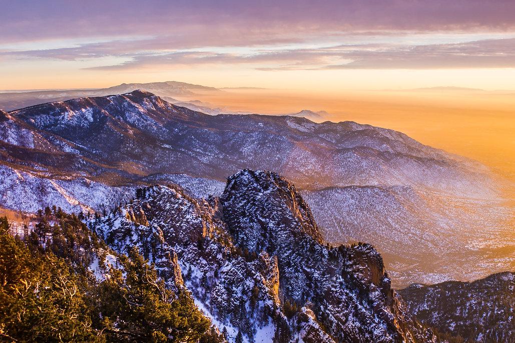 New Mexico, Albuquerque scenic mountain
