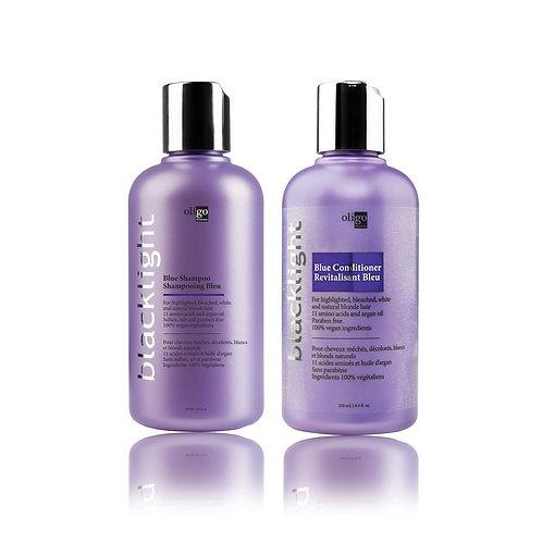 Oligo Blacklight Blue Shampoo+Conditioner