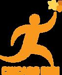 _Chicago Run Logo, larger text, clear ba