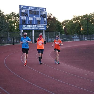 CARA Darien / Wheaton Track Workout