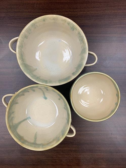 Lot 216 - 3 Large Bowls