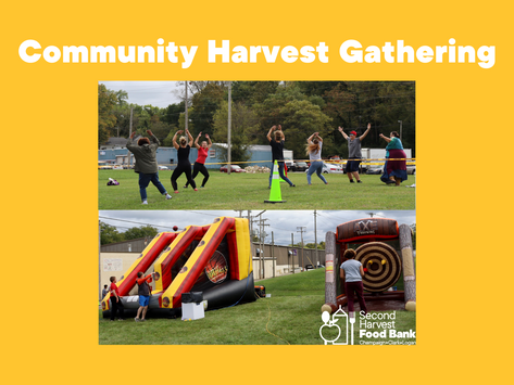 Our First Community Harvest Gathering