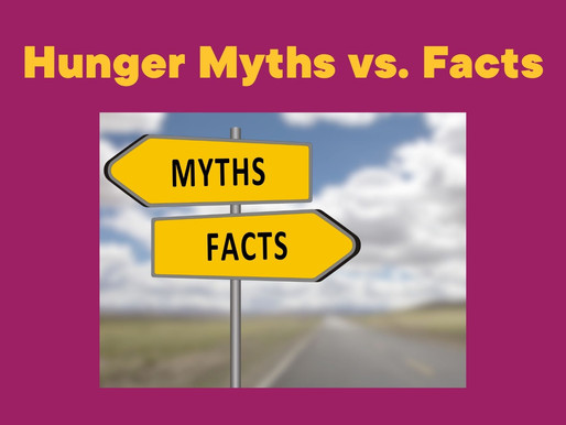 Myths and Facts about Poverty and Hunger