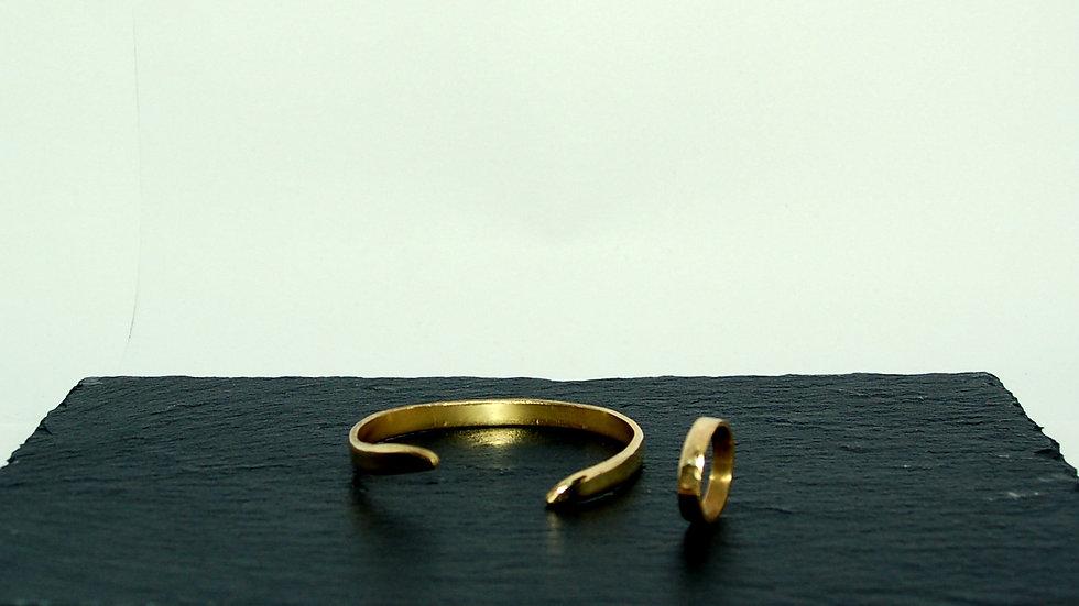 Bracelet YEO + Bague NUAMAR