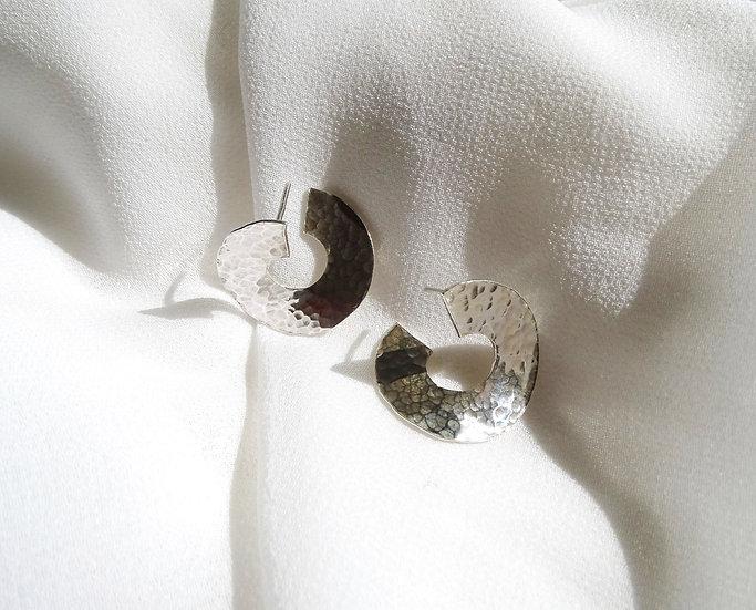 Boucles d'oreille MOMAR argent