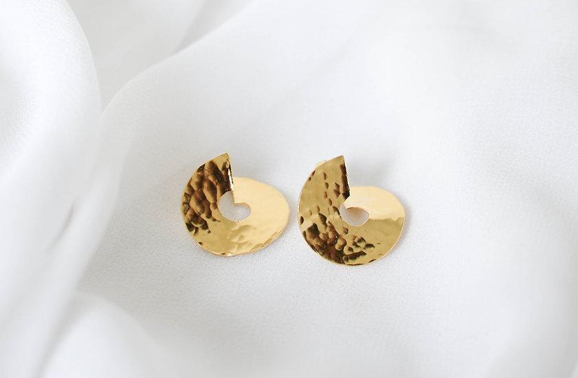 Boucles d'oreille MOMAR dorées