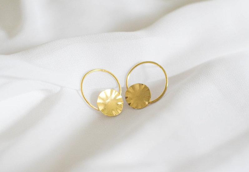 Boucles d'oreille BONLA dorées