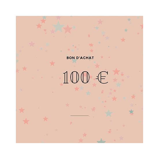 Bon cadeau 100,-€