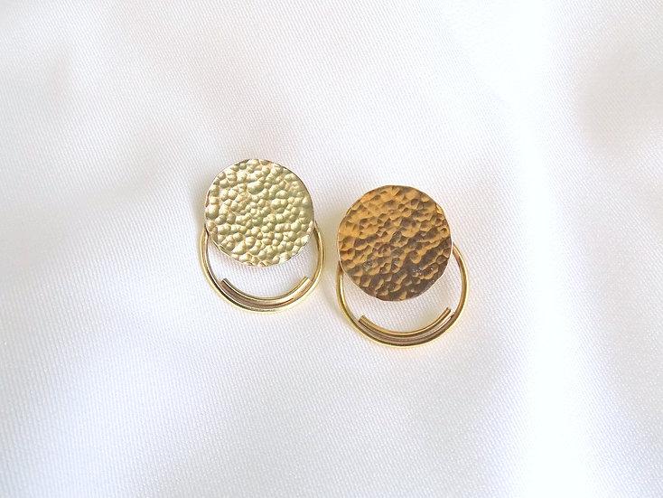 Boucles d'oreille MARLI dorées