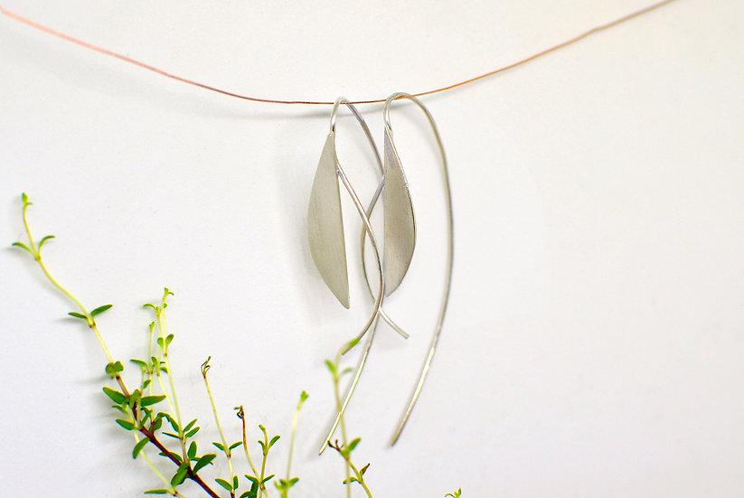 Spécial drop - silver earrings