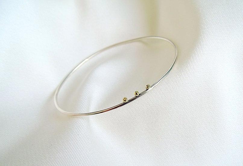 Bracelet BITRAI argenté