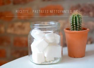 RECETTE : PASTILLES NETTOYANTES WC