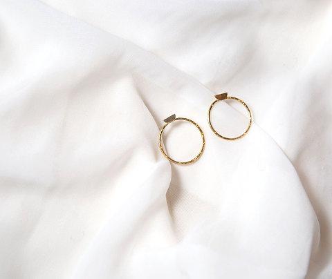 Boucles d'oreille KIVOM dorées