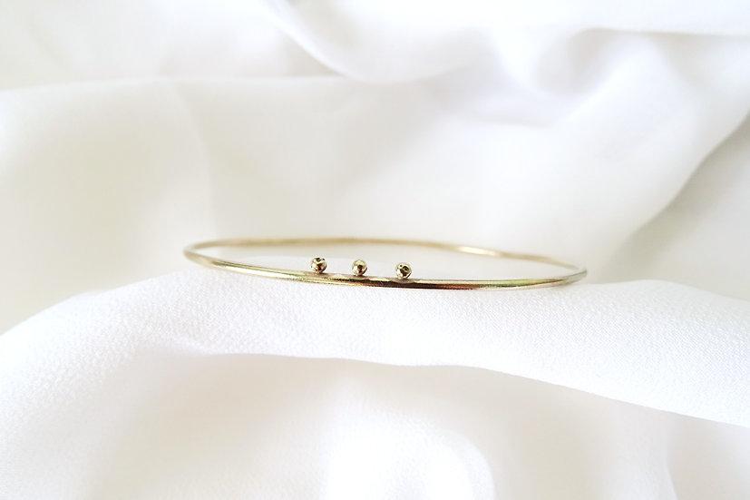 Bracelet BITRAI doré