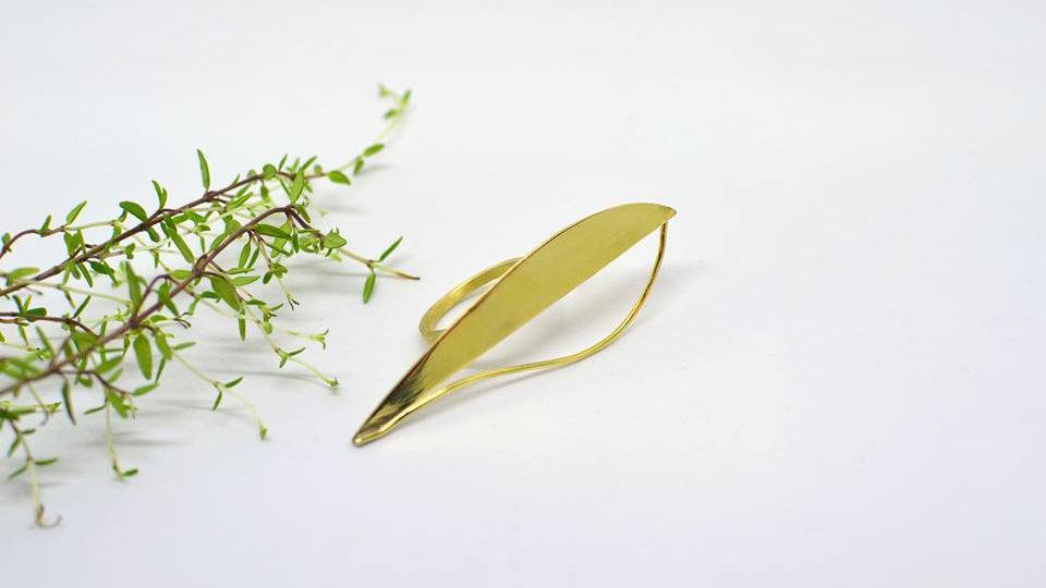 Big Drop - Gold Ring