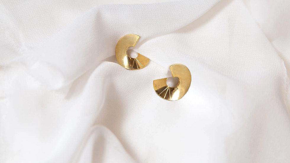 Boucles d'oreille MOVOM dorées
