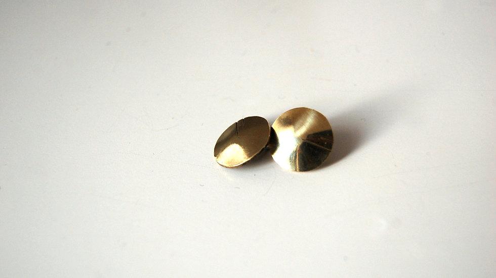 Boucles d'oreille VOMTAI dorées
