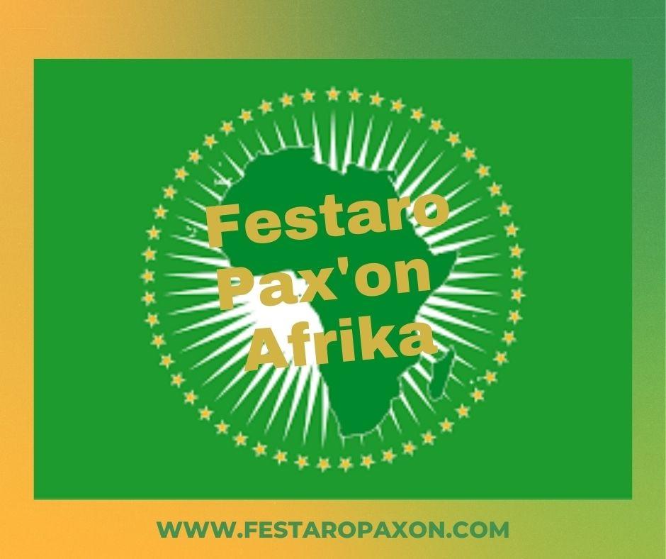 Logo festaro pax'on afrika