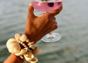 This beautiful drink is called the                      Boat Babe Bombshell
