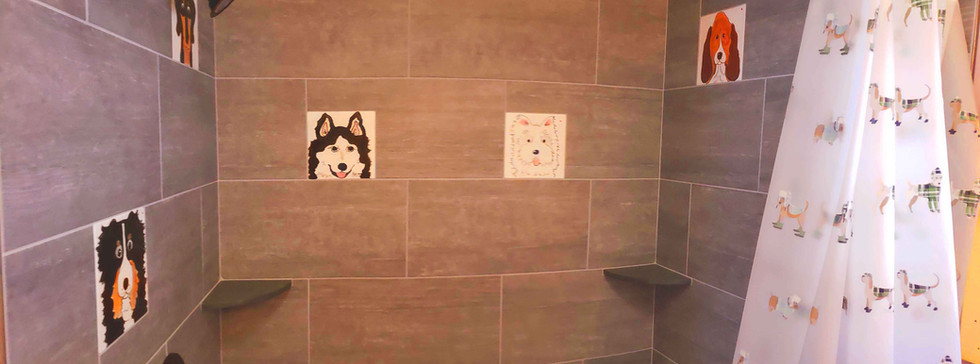 A dog themed shower!
