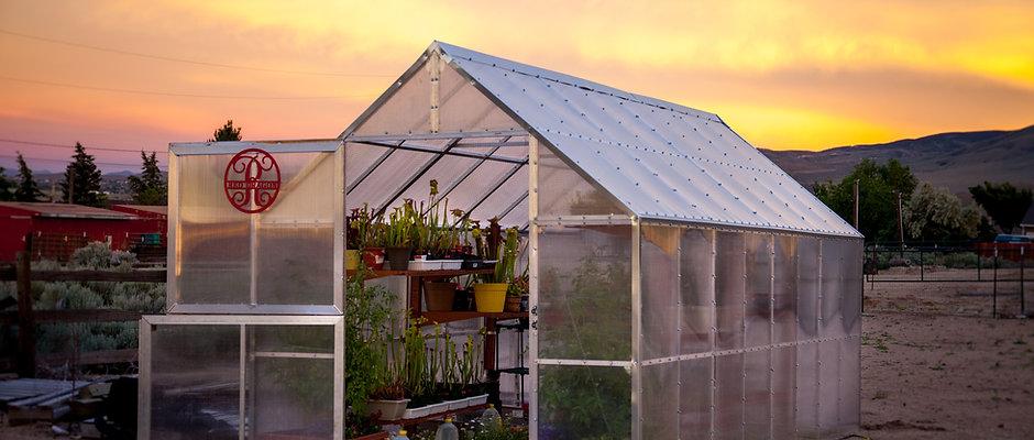 8' x 16' Modular Greenhouse
